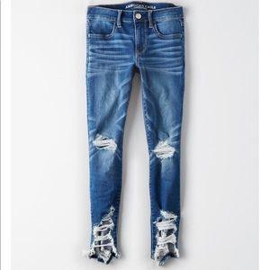 AE crop jeans